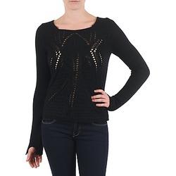 衣服 女士 羊毛衫 Antik Batik LACE 黑色