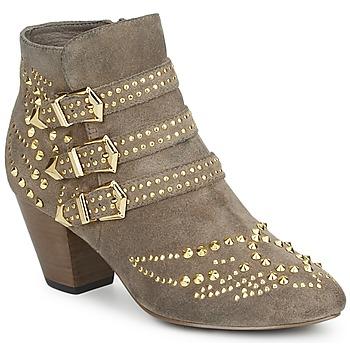 鞋子 女士 短靴 Ash 艾熙 JOYCE 米色