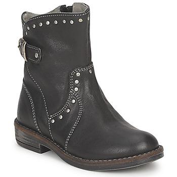 鞋子 女孩 短筒靴 Noel FRANCA 黑色