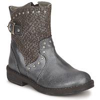 鞋子 女孩 短筒靴 Noel FRANCA 银色