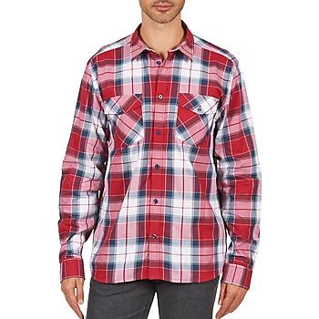 衣服 男士 長袖襯衫 Wesc JOEY 紅色