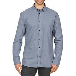 衣服 男士 長袖襯衫 Wesc YANIK 藍色