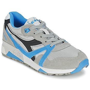 鞋子 球鞋基本款 Diadora 迪亚多纳 N9000  NYL 灰色 / 蓝色 / 黑色