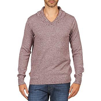 衣服 男士 羊毛衫 Kulte PULL CHARLES 101823 ROUGE 红色