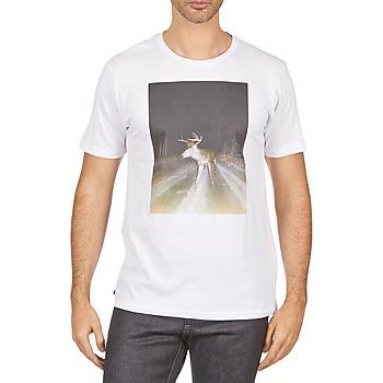 衣服 男士 短袖体恤 Kulte BALTHAZAR PLEIN PHARE 101931 BLANC 白色