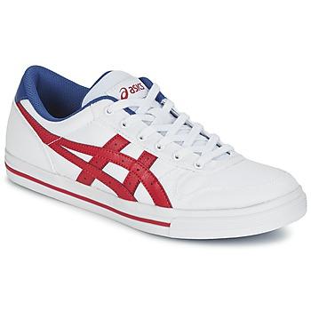 鞋子 球鞋基本款 Asics 亚瑟士 AARON 白色 / 红色
