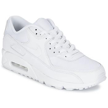 鞋子 男士 球鞋基本款 Nike 耐克 AIR MAX 90 ESSENTIAL 白色