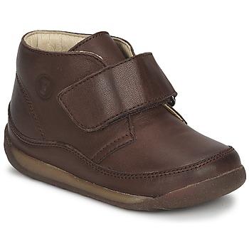 鞋子 男孩 短筒靴 Naturino 那都乐  棕色