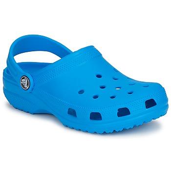 鞋子 儿童 洞洞鞋/圆头拖鞋 crocs 卡骆驰 CLASSIC KIDS 蓝色