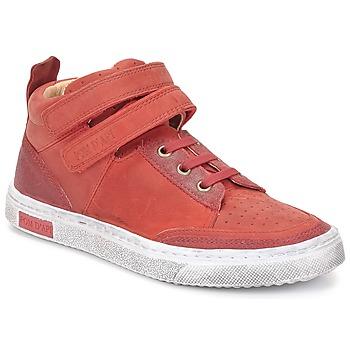 鞋子 女孩 高帮鞋 Pom d'Api 朋大芘 BACK BASKET 红色