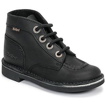 鞋子 儿童 短筒靴 Kickers KICK COL 黑色