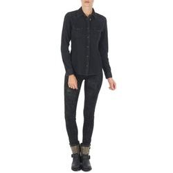 衣服 女士 紧身牛仔裤 Lee SCARLETT 黑色