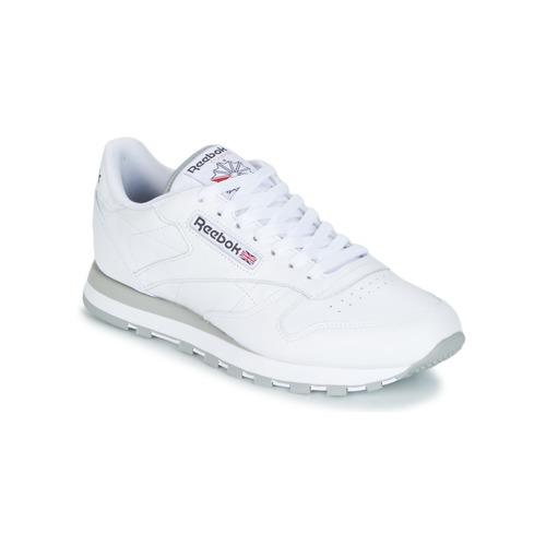 鞋子 球鞋基本款 Reebok Classic CLASSIC LEATHER 白色