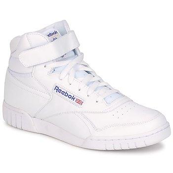 鞋子 球鞋基本款 Reebok Classic EX-O-FIT HI 白色