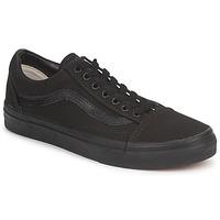 鞋子 球鞋基本款 Vans 范斯 OLD SKOOL 黑色 / 黑色