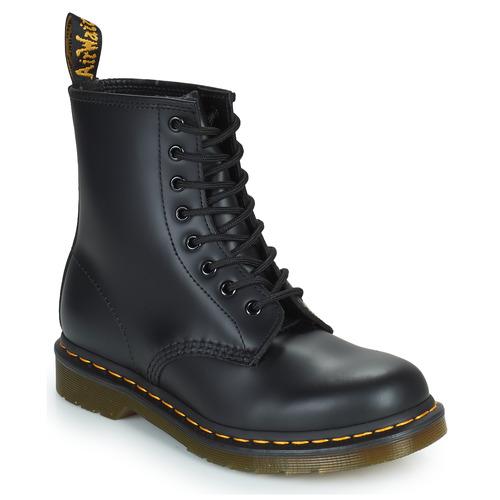 鞋子 短筒靴 Dr Martens 1460 8 EYE BOOT 黑色
