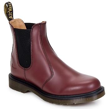 鞋子 短筒靴 Dr Martens 2976 CHELSEA BOOT 红色 / 樱桃红