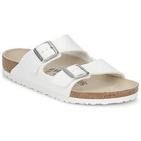 鞋子 休闲凉拖/沙滩鞋 Birkenstock 勃肯 ARIZONA 白色