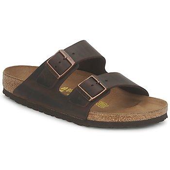 鞋子 男士 休闲凉拖/沙滩鞋 Birkenstock 勃肯 ARIZONA LARGE FIT Habana