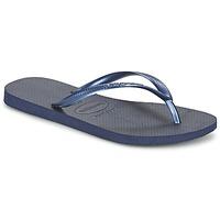 鞋子 女士 人字拖 Havaianas 哈瓦那 SLIM 海蓝色