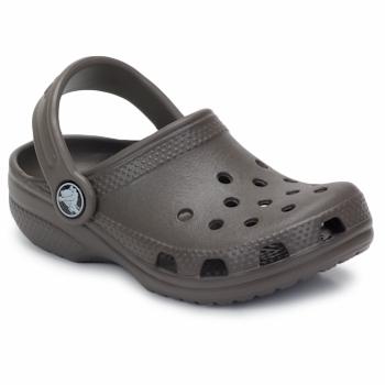 鞋子 儿童 洞洞鞋/圆头拖鞋 crocs 卡骆驰 KIDS CLASSIC CAYMAN 巧克力色