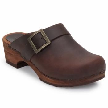 鞋子 女士 洞洞鞋/圆头拖鞋 Sanita URBAN OPEN 棕色