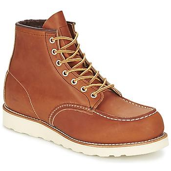 鞋子 男士 短筒靴 Red Wing 红翼 CLASSIC 棕色