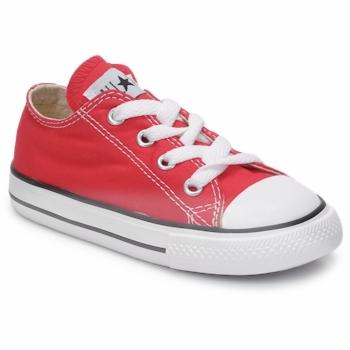 鞋子 兒童 球鞋基本款 Converse 匡威 ALL STAR OX 紅色