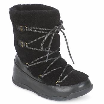 鞋子 女士 雪地靴 FitFlop SUPERBLIZZ 黑色