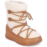 鞋子 女士 雪地靴 FitFlop SUPERBLZZ 米色 / 棕色