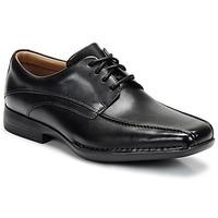 鞋子 男士 德比 Clarks 其乐 FRANCIS 黑色
