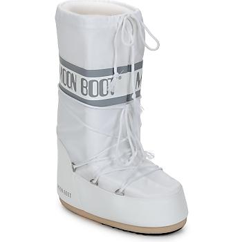 鞋子 女士 雪地靴 Moon Boot CLASSIC 白色 / 银灰色