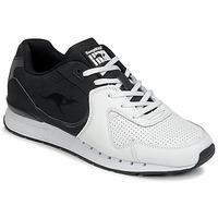 鞋子 男士 球鞋基本款 Kangaroos COIL-R2 TONE 白色 / 黑色
