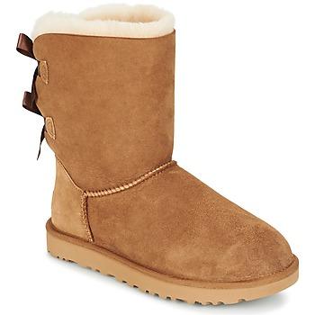 鞋子 女士 短筒靴 UGG BAILEY BOW II 米色