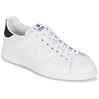 鞋子 女士 球鞋基本款 Victoria 维多利亚 DEPORTIVO BASKET PIEL 白色 / 黑色