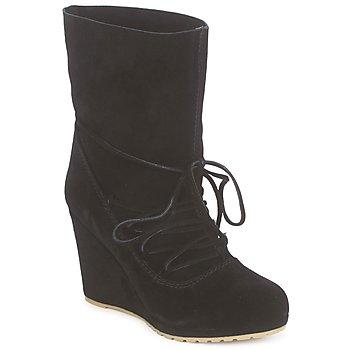 鞋子 女士 短靴 Chinese Laundry PENNY CROSSING Suede / 黑色