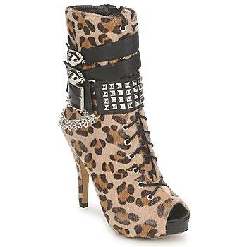 鞋子 女士 短靴 Abbey Dawn 艾比道恩 PLATFORM BOOTEE Leopard / Print