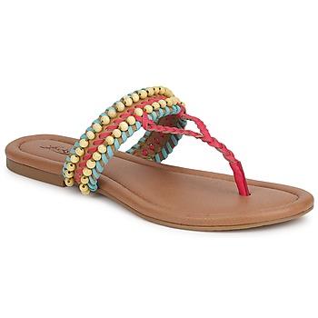鞋子 女士 凉鞋 Lucky Brand DOLLIS 深色 / 驼色 / Teaberry / 蓝色 / 蓝色