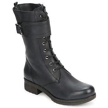 鞋子 女士 都市靴 Unisa BLACK 黑色