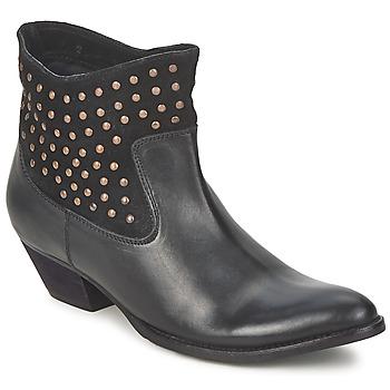 鞋子 女士 短筒靴 Friis & Company 馥荔丝 DUBAI FLIC 黑色