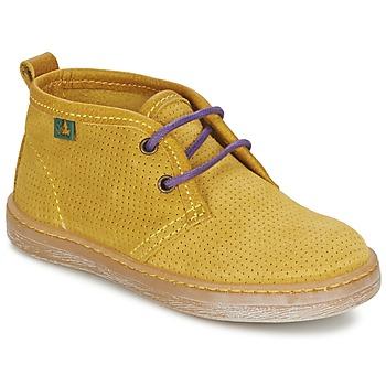 鞋子 男孩 短筒靴 El Naturalista KEPINA 黄色