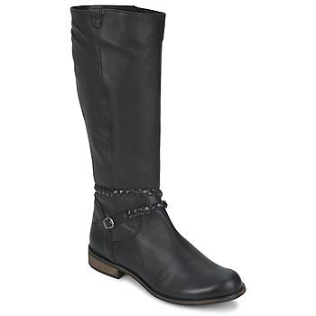 鞋子 女士 都市靴 So Size BERTOU 黑色