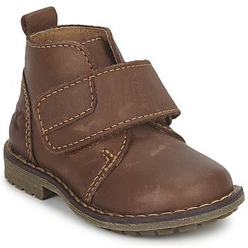 鞋子 男孩 短筒靴 Citrouille et Compagnie MELDUNE 棕色