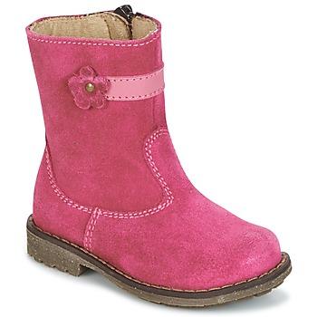 鞋子 女孩 短筒靴 Citrouille et Compagnie PISTY 紫红色