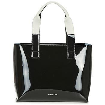 包 女士 购物袋 Calvin Klein Jeans FLOW EW TOTE 黑色
