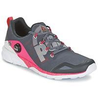 鞋子 女士 跑鞋 Reebok 锐步 REEBOK ZPUMP FUSION 灰色 / 玫瑰色