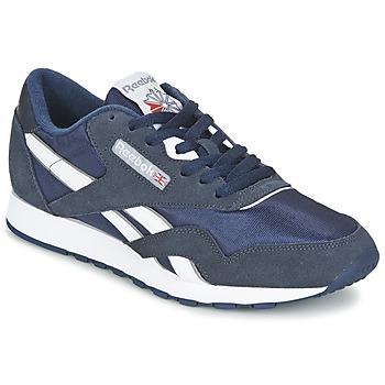 鞋子 女士 球鞋基本款 Reebok Classic CLASSIC NYLON 蓝色