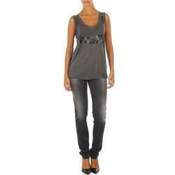 衣服 女士 紧身牛仔裤 Diesel 迪赛尔 GETLEGG L.32 TROUSERS 灰色