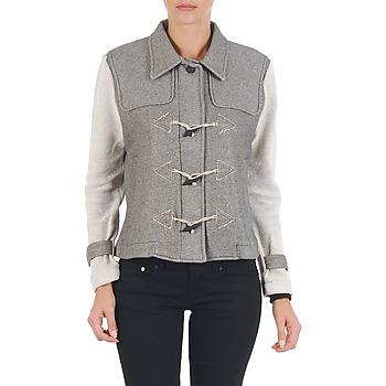 衣服 女士 夹克 Diesel 迪赛尔 G-JAYA-A SWEAT-SHIRT 灰色