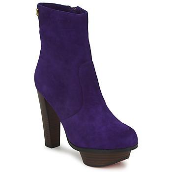 鞋子 女士 短靴 Edith & Ella  紫罗兰